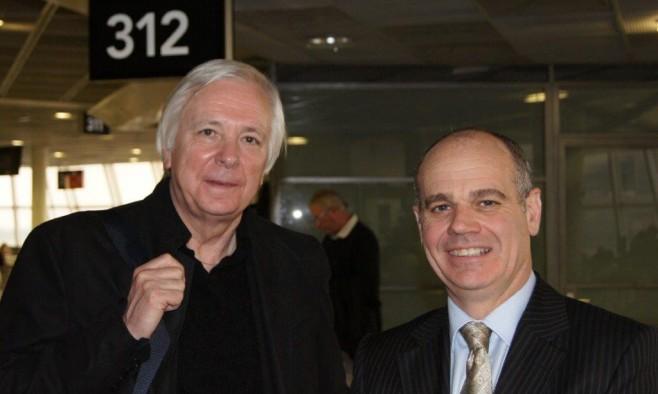 Andrew Lees (left)