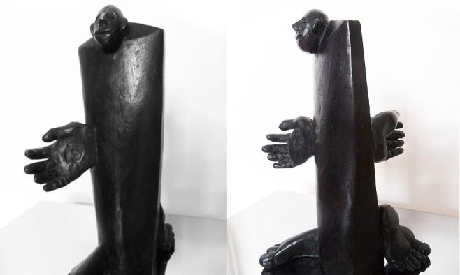 Sculpture B&W 2
