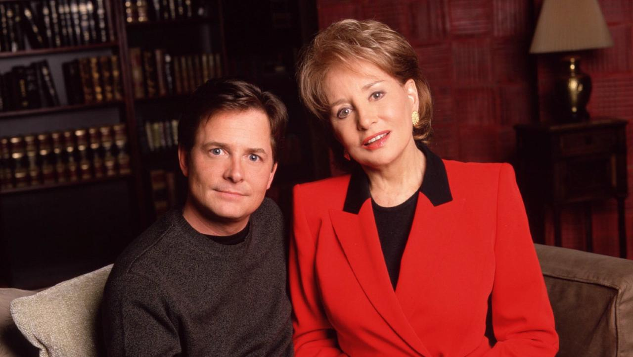 Michael J Fox Barbara Walters The View