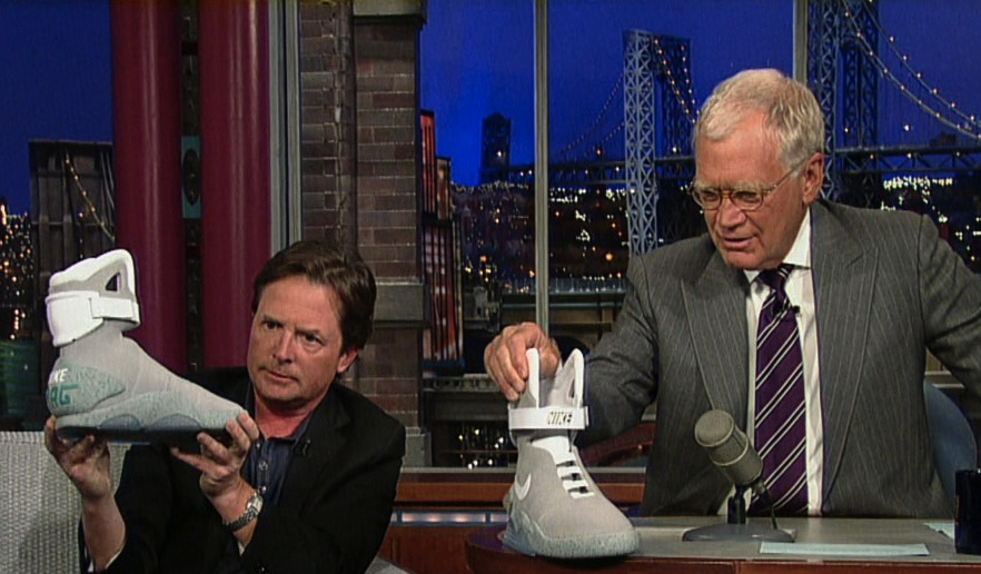 Michael J Fox David Letterman
