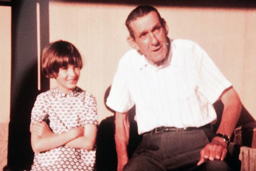Elisa & Granddad
