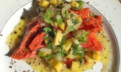 Salmon-&-mango-salsa