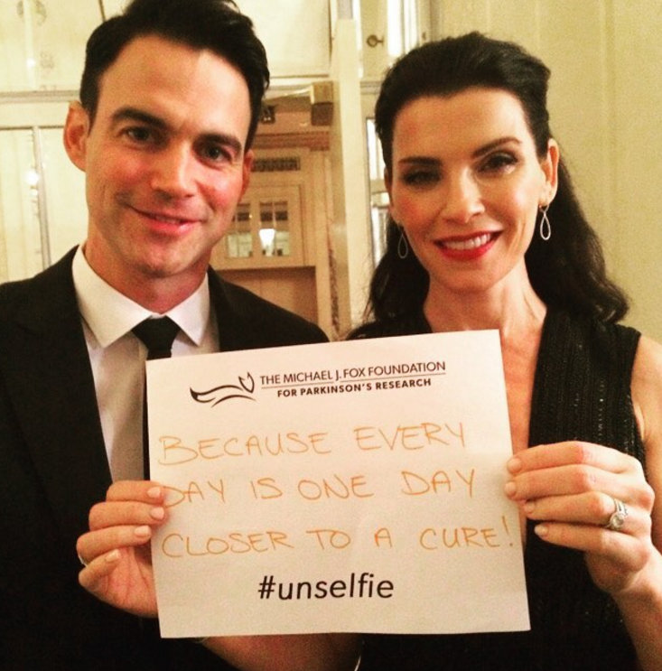 Actress Julianna Margulies and husband Keith Lieberthal