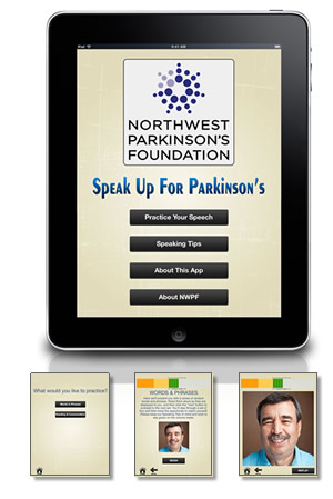 Speak Up For Parkinson's app