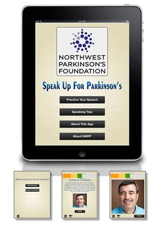 Speak Up For Parkinson's app