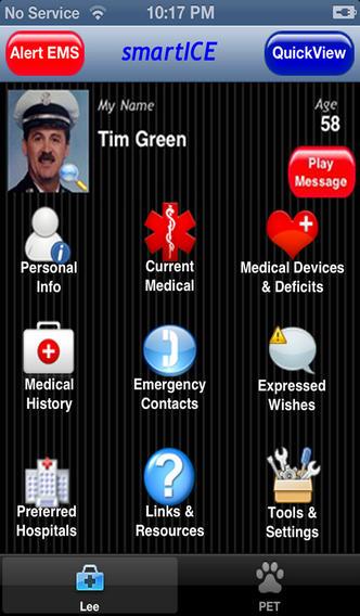 smartICE app