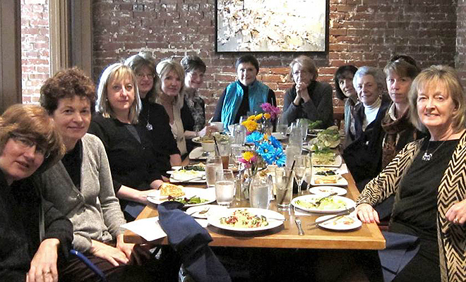 Parkinson's Women Support lunch