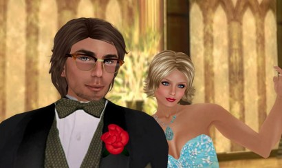 Second Life couple