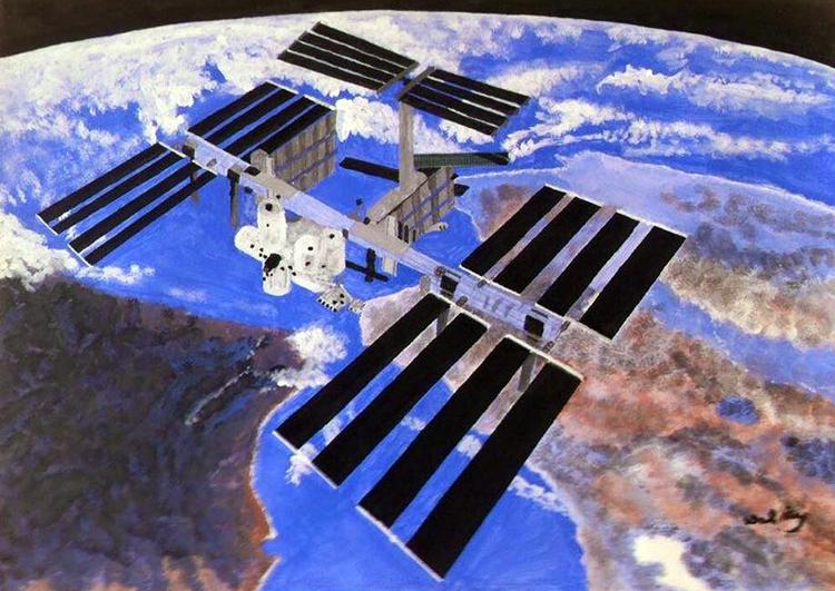 ISS by Walter Reynecke