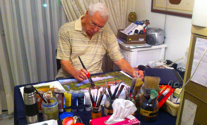 Walter painting