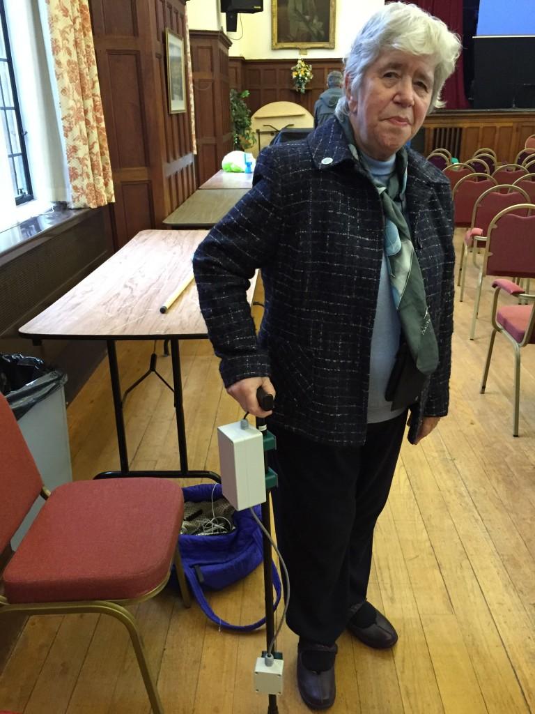 Parkinson's patient Marcia Lewis