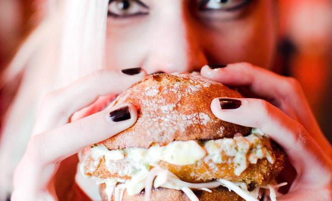 Brain burger girl