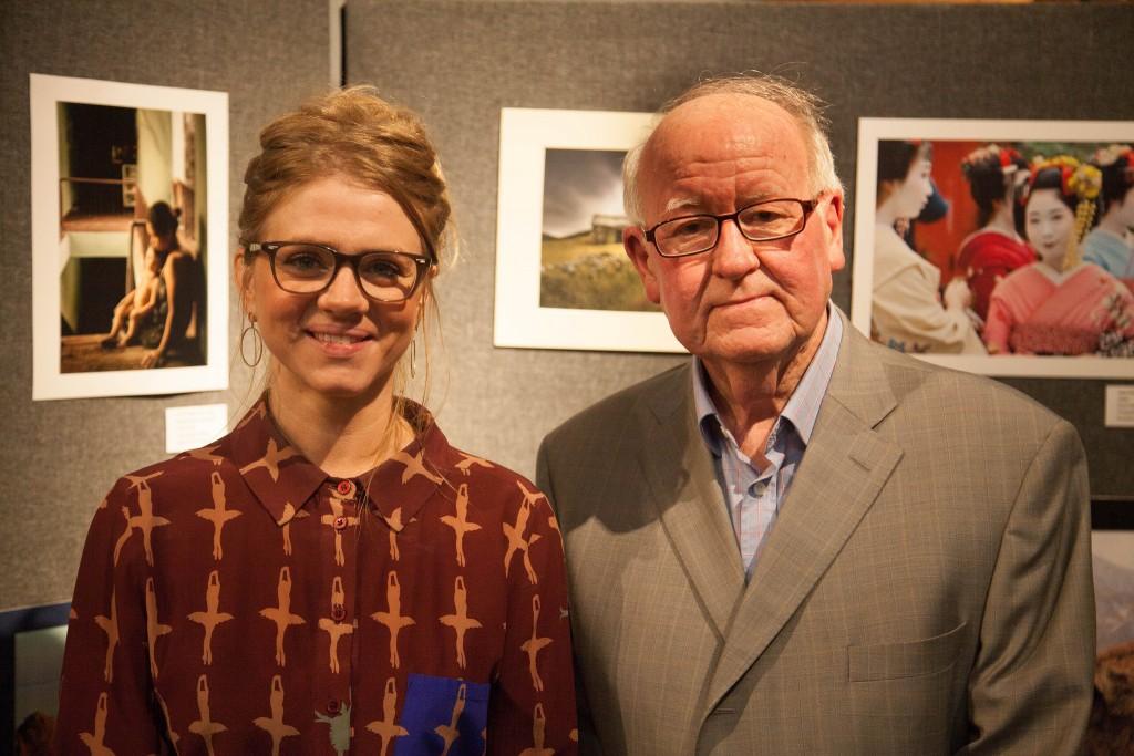 Mervyn Peak Awards Exhibition lead