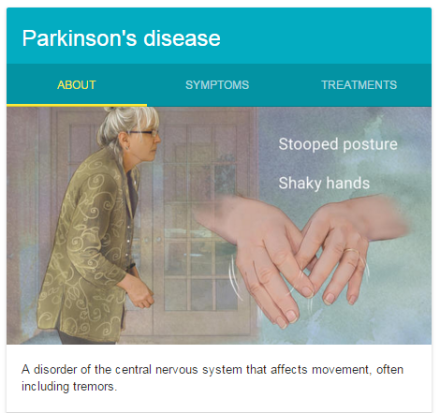 Parkinson's diease google