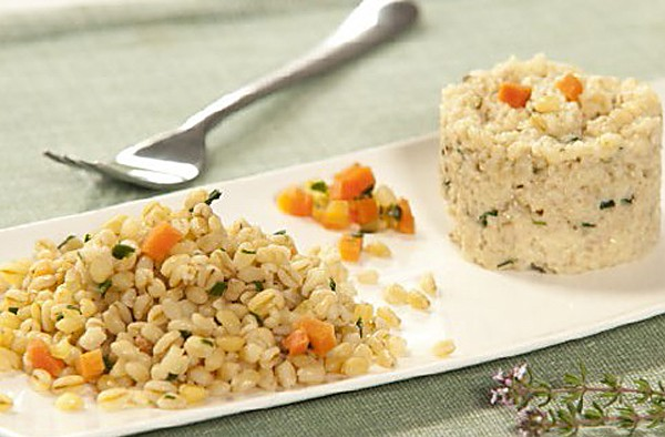 Pearl barley risotto lead
