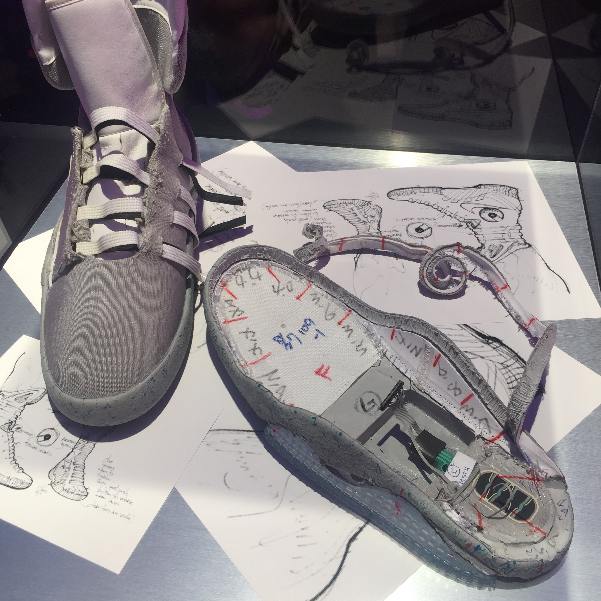 bdb229fbff01b4 Michael J Fox s  Back to the Future  Nike shoes to help speed a cure ...
