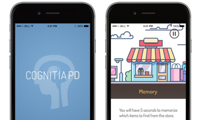 Cognitia PD app lead