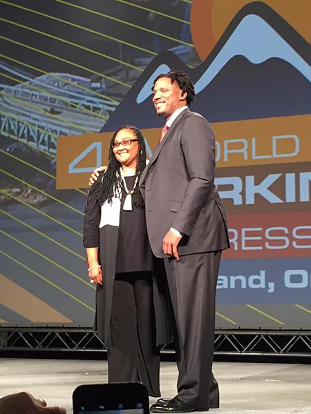 May May Ali and Brian Grant