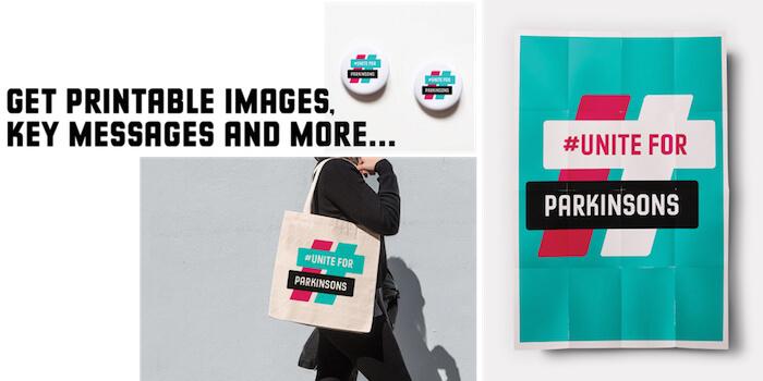 UniteForParkinsons logos