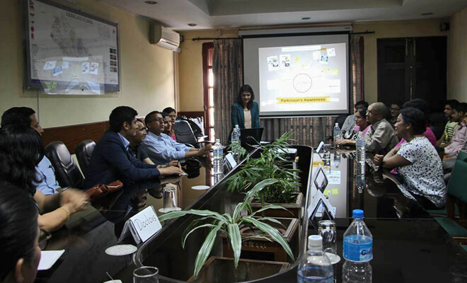 Parkinson's support Nepal-meeting