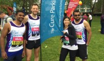 Cure Parkinson's Trust Vitality run