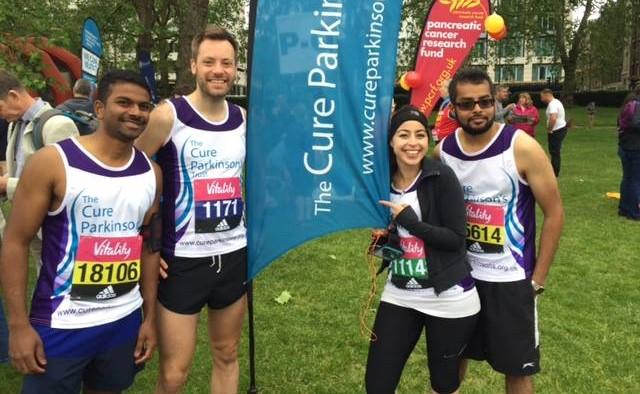 Cure Parkinson's Trust Vitality run