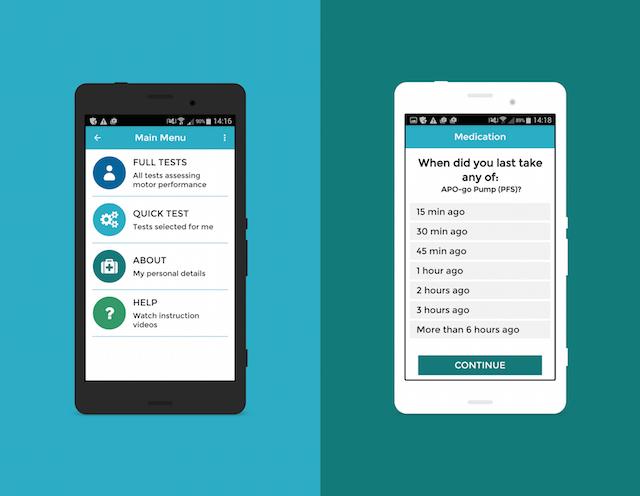 cloudUPDRS-app-home