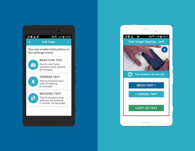cloudUPDRS-app-tests