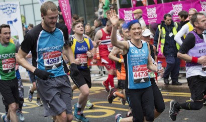 Parkinson's UK London Marathon 2017 lead