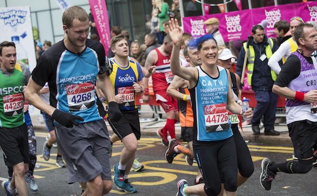 Parkinson's UK London Marathon 2017 lead