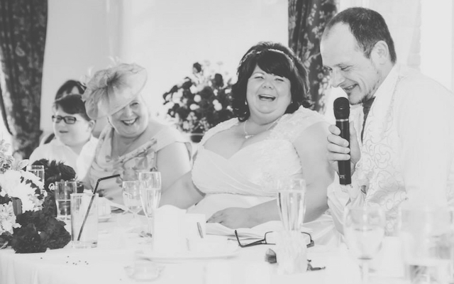 Matt Eagles at wedding