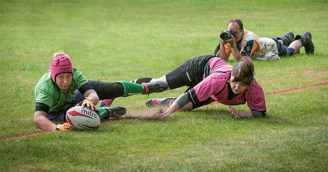 Matt Eagles shooting women's rugby