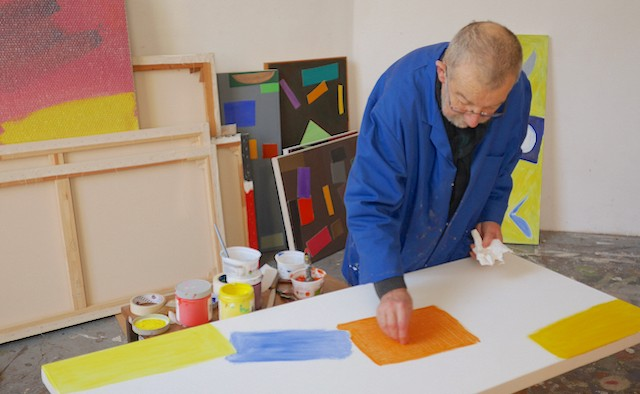John McLean at work