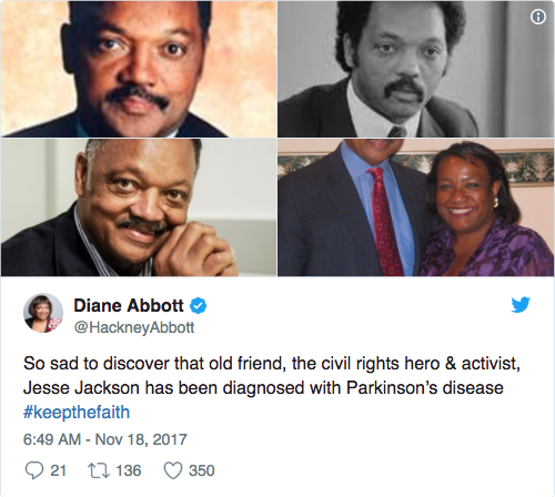Diane Abbott tweet