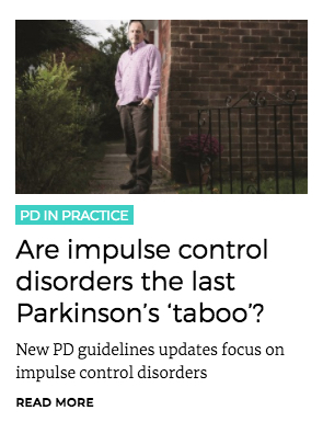 Are impulse control disorders the last Parkinson's 'taboo'?