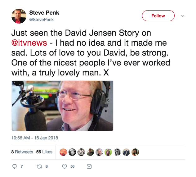 Steve Penk tweet