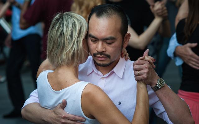 Tango dancers i