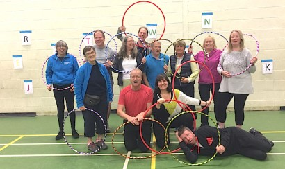 180301_PL_World Parkinson's Boot Camp hoop exercises