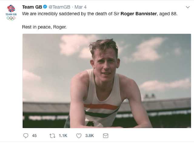 180315_PL_Sir Roger Bannister Team GB tweet