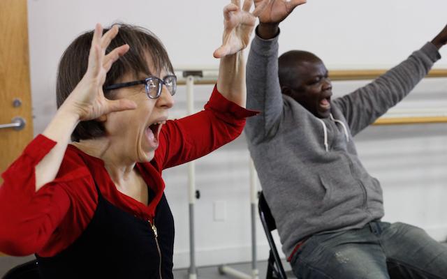 David Leventhal dance class