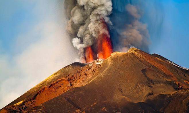 Etna-Eruption