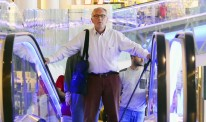 Man-on-escalator