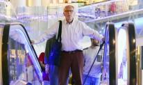 Man-on-escalator