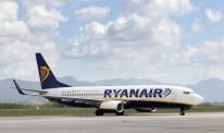 yanair airplane at Bergamo airport in Italy