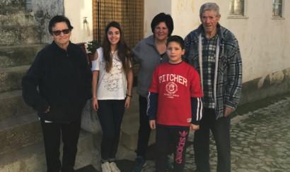 Maria Alice and family lead