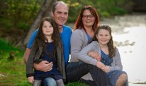 Natasha McCarthy and family