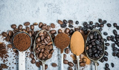 coffee beans roasted,instant and ground coffee
