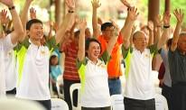 Parkinson's Singapore lead