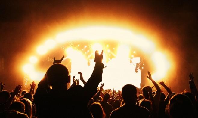 Heavy metal concert