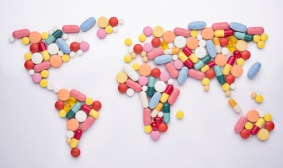 World map medicine